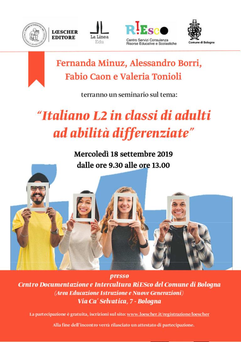 Seminario italiano L2 18/09/19